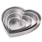 2105-606  Set de tave in forma de inima