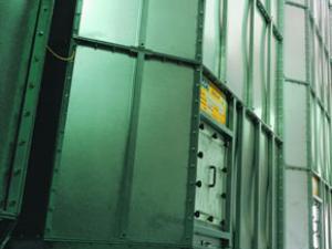 Внутренние металические силосы SILBOX