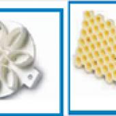 Forme plastice pentru marcarea chiflelor sau a franzelelor