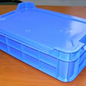 Пластиковый ящик тип М10/М20 с крышкой