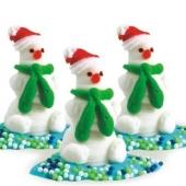 """Set """"Omuleţi de zăpadă"""""""